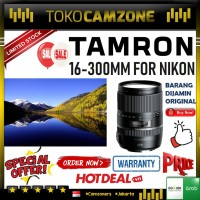 Tamron 16-300mm For Sony f/3.5-6.3 Di II PZD MACRO Lens