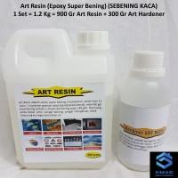 Art Resin - 1.2 Kg - Epoxy Resin Bening - Resin Lycal Bening