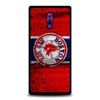 Hardcase Casing Oppo Reno Boston Red Sox Grunge Baseball Clu