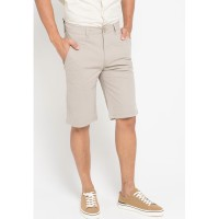Celana Pendek Chinos Casual Big Size Gargo OBS002 Grey