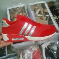 Terhot Sepatu Adidas Sport Merah Model Terbaru S282 Bkn Original