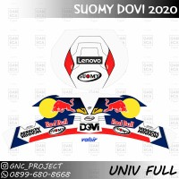 Sticker Decal Helm SUOMY SRGP DOVY 2020 For Universal Helm Full