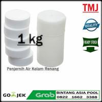 Kaporit Tablet Besar 1 kg / klorin kaporit 90% Penjernih Air