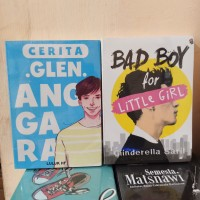 PAKET 2 NOVEL WATTPAD GLEN ANGGARA - BAD BOY FOR LITTLE GIRL