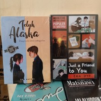 PAKET 2 NOVEL WATTPAD TELUK ALASKA - JUST A FRIEND TO YOU