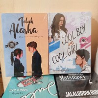 PAKET 2 NOVEL WATTPAD TELUK ALASKA - COOL BOY COOL GIRL