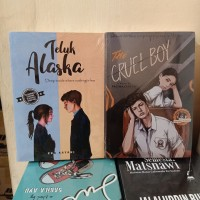 PAKET 2 NOVEL WATTPAD TELUK ALASKA - THE CRUEL BOY