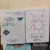PAKET 2 NOVEL WATTPAD HELLO SALMA - THANK YOU SALMA