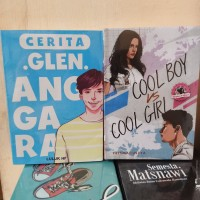PAKET 2 NOVEL WATTPAD GLEN ANGGARA - COOL BOY COOL GIRL