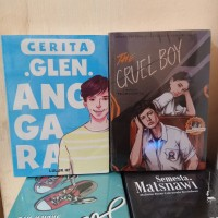 PAKET 2 NOVEL GLEN ANGGARA - THE CRUEL BOY