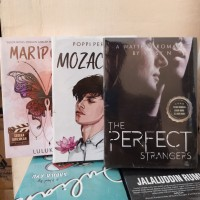 PAKET 3 NOVEL WATTPAD MARIPOSA MOZACHIKO THE PERFECT STRANGERS