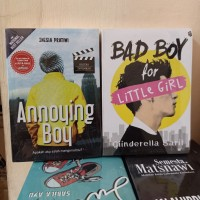 PAKET 2 NOVEL WATTPAD ANNOYING BOY - BAD BOY FOR LITTLE GIRL