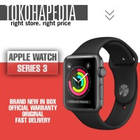 Apple Watch / iWatch Series 3 38mm Alumunium Black Sport Band