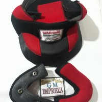 Busa helm gm imprezza full set busa helm gm half face