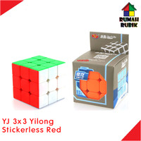 Rubik 3x3 Yongjun Yilong Stickerless Red / YJ8376SR