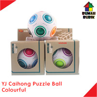 Rubik Puzzle Ball Yongjun Caihong Colourful / YJ8354SR