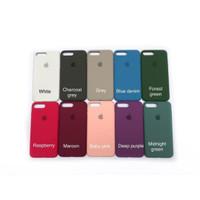 Silicone leather case silicon Apple iPhone 7 plus / 8 plus Full