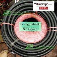 Selang Hidrolik HAMMERSPIR 3/4 Kawat 1 - HIGH QUALITY Hydraulic Hose