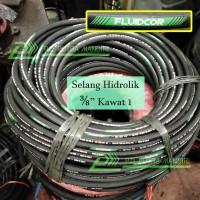 Selang Hidrolik FLUIDCOR 3/8 Kawat 1 - High Quality ISO Hydraulic Hose