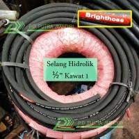 Selang Hidrolik BRIGHTHOSE 1/2 Kawat 1 - BEST SELLER Hydraulic Hose