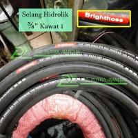 Selang Hidrolik BRIGHTHOSE 5/8 Kawat 2 - BEST SELLER Hydraulic Hose