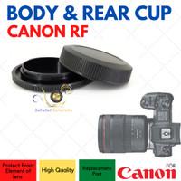 Canon RF Mount Rear Lens & Camera Body Cap