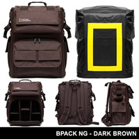Tas Ransel Backpack National Geographic Gratis Raincoat