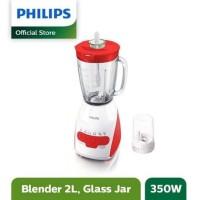 PHILIPS Blender Glass 2 Liter HR2116 Red Beling 2L HR 2116 Merah