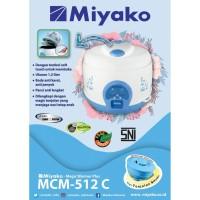 MIYAKO MCM 512 / MAGIC COM 1.2 LITER + TONJOLAN RICE COOKER / MCM512