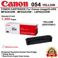 CANON 054 Yellow 3021C001 Toner Cartridge MF644CDW MF642CDW LBP622CDW