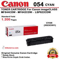 CANON 054 Cyan 3023C001 Toner Cartridge MF644CDW MF642CDW LBP622CDW