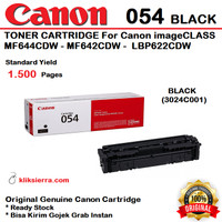 CANON 054 Black 3024C001 Toner Cartridge MF644CDW MF642CDW LBP622CDW