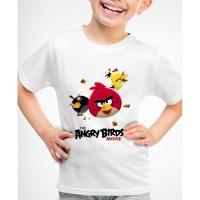 Kaos Baju anak Angry birds AB02