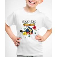 Kaos Baju anak Angry birds AB03