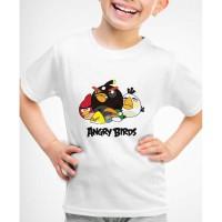 Kaos Baju anak Angry birds AB01