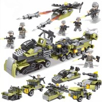 Mainan Anak Lego Block Special Corps Green Army
