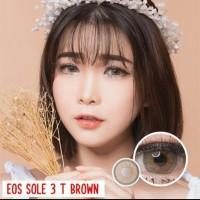 ORIGINAL Softlens EOS SOLE 3T BROWN soflens softlenses