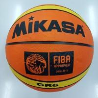 bola basket mikasa GR6 GR 6 size 6 karet