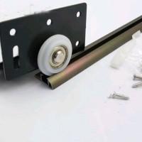 roda pintu lemari atas bawah kualitas bagus roda nylon pintu sliding