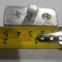 roda / penahan pintu sliding / geser bawah ada bearing bahan besi kuat