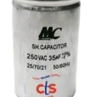 Kapasitor mc 35 mfd 250V AC Motor Starting Capacitor 35uf 250Vac 35