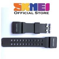 Strap tali jam tangan Skmei 1358 SKMEI 1358 Hitam list Putih