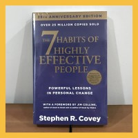 Buku Import The 7 Habits of Highly Effective People (Original & New)