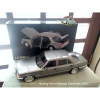 Miniatur Norev Mercedes Benz 560 SEL W126 w/ AMG Wheels Skala 1:18