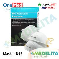 Masker N95 / Masker APD / Masker Bedah / Masker Anti Virus - ONEMED