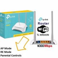 TP-LINK TL-WR840N 300Mbps Wireless Router TPLink Wifi Extender 2 Anten
