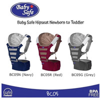 Baby Safe BC005 Hip Seat Carrier Baby Carrier NEWBORN TO TODDLER
