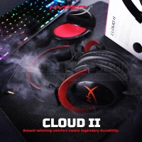 HyperX Cloud 2 Grey Black Gaming Headset