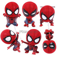 Spiderman Cosbaby Action Figure Iron Spider