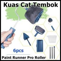 Alloet Kuas Cat Tembok Paint Runner Pro Roller DY 526 Blue
